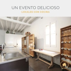 Los mejores espacios con cocina para eventos