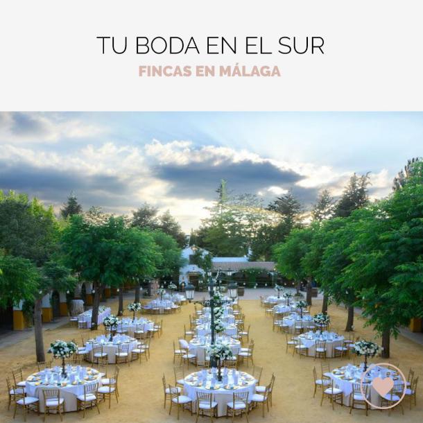 9 fincas para bodas en Málaga Si quier