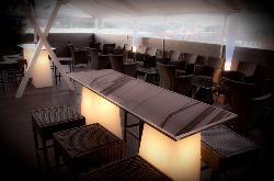Terraza superior de La Novena Pub
