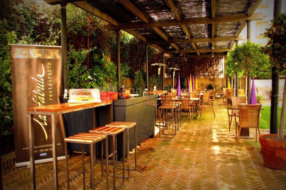 Exterior 2 en Restaurante La Fábula Granada