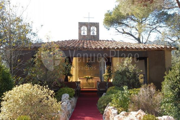 Exterior de la capilla de Sant Lluís de Ristol
