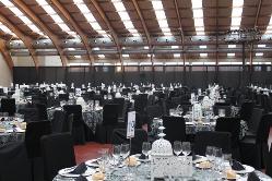 Montaje evento en sala exposiciones