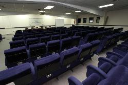 Sala azul para conferencias