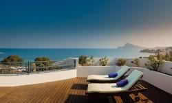 Terraza en SH Hotel Villa Gadea