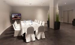 Hotel Don Cándido****-montaje de una sala para reunión