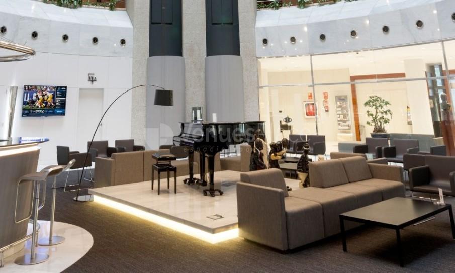 Hotel Don Cándido**** y el lobby del hotel