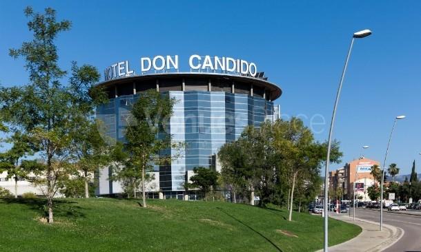 Hotel Don Cándido****-imagen de exterior
