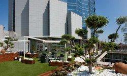 Hotel Don Cándido****-su jardín y fachada