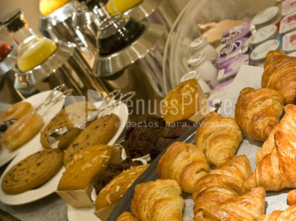 Coffe- break en Radisson Blu Hotel Madrid Prado