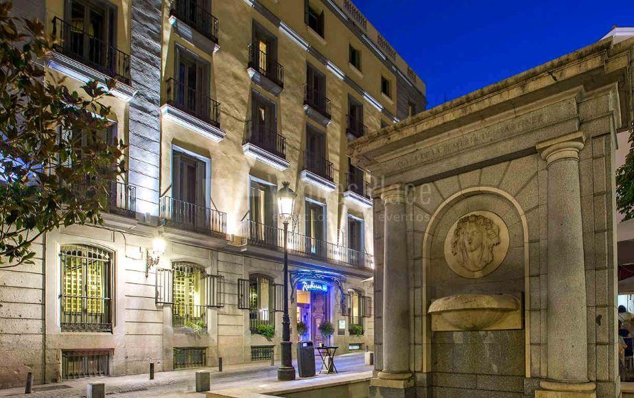 Eventos en el centro de Madrid en Radisson Blu Hotel Madrid Prado