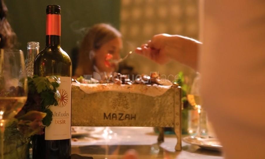 Montaje 9 en Restaurante Mazah