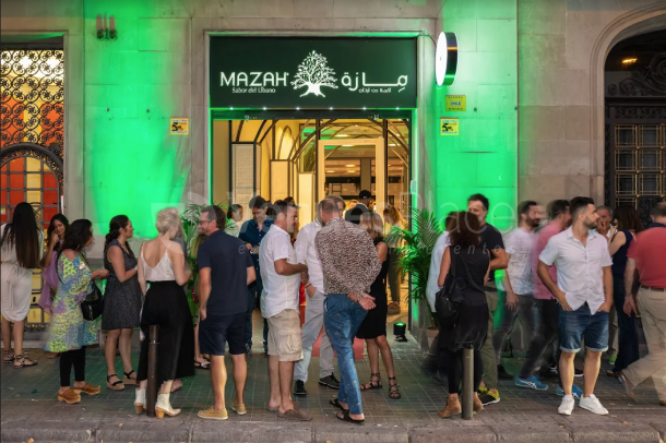 Montaje 13 en Restaurante Mazah