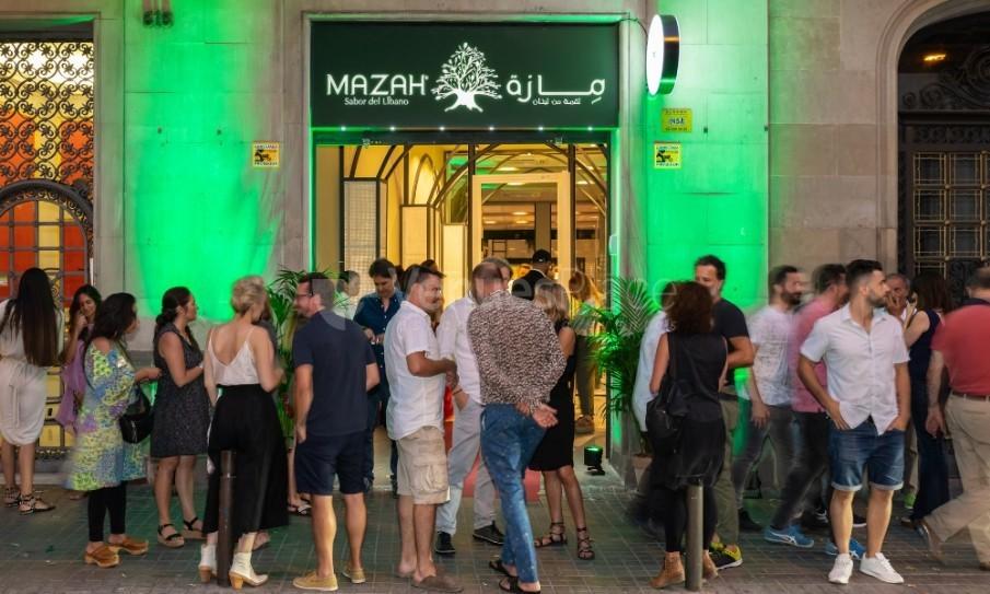 Fachada en Restaurante Mazah