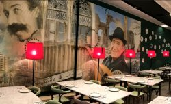 Interior 6 en Restaurante Mazah