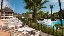 Terraza Restaurnate Sunsa en The Westin La Quinta Golf Resort & Spa