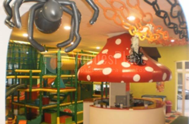 Decoración interior en Abracadabra Fiestas Infantiles