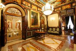 Vestíbulo del Palacio de Santoña