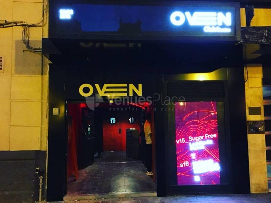 Evento en Oven Club Centro