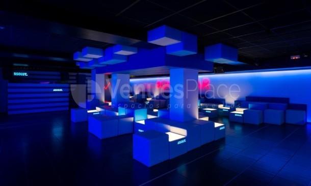 Espacios para eventos en Oven Club Centro