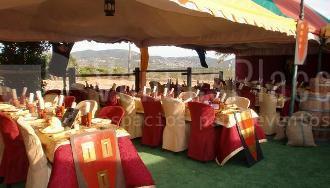 Restaurantes con espectáculo para Bodas: Masía Medieval