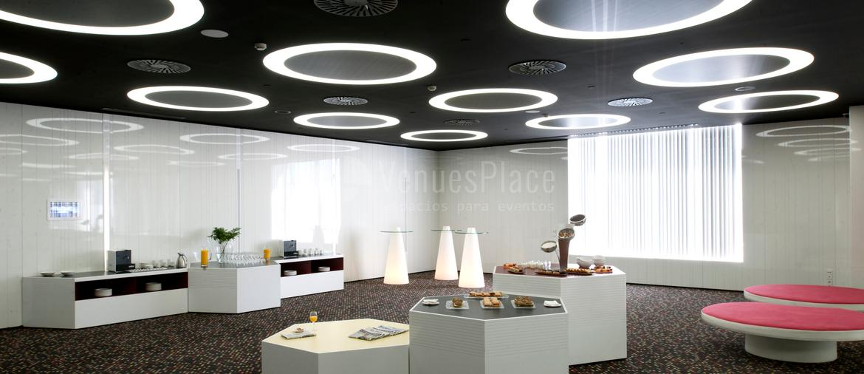 Interior 1 en Hotel Barceló Sants