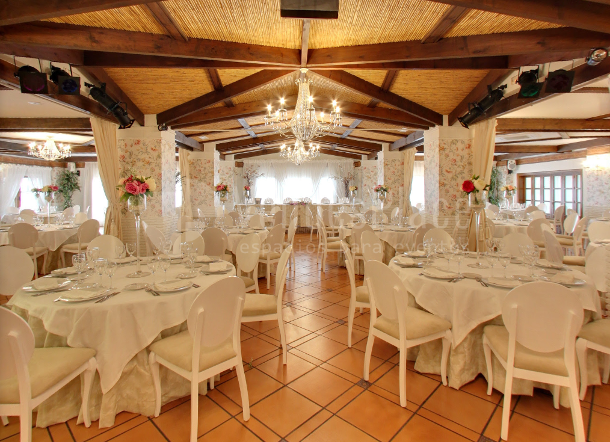 Cena de gala  en Casa Paco de Coín