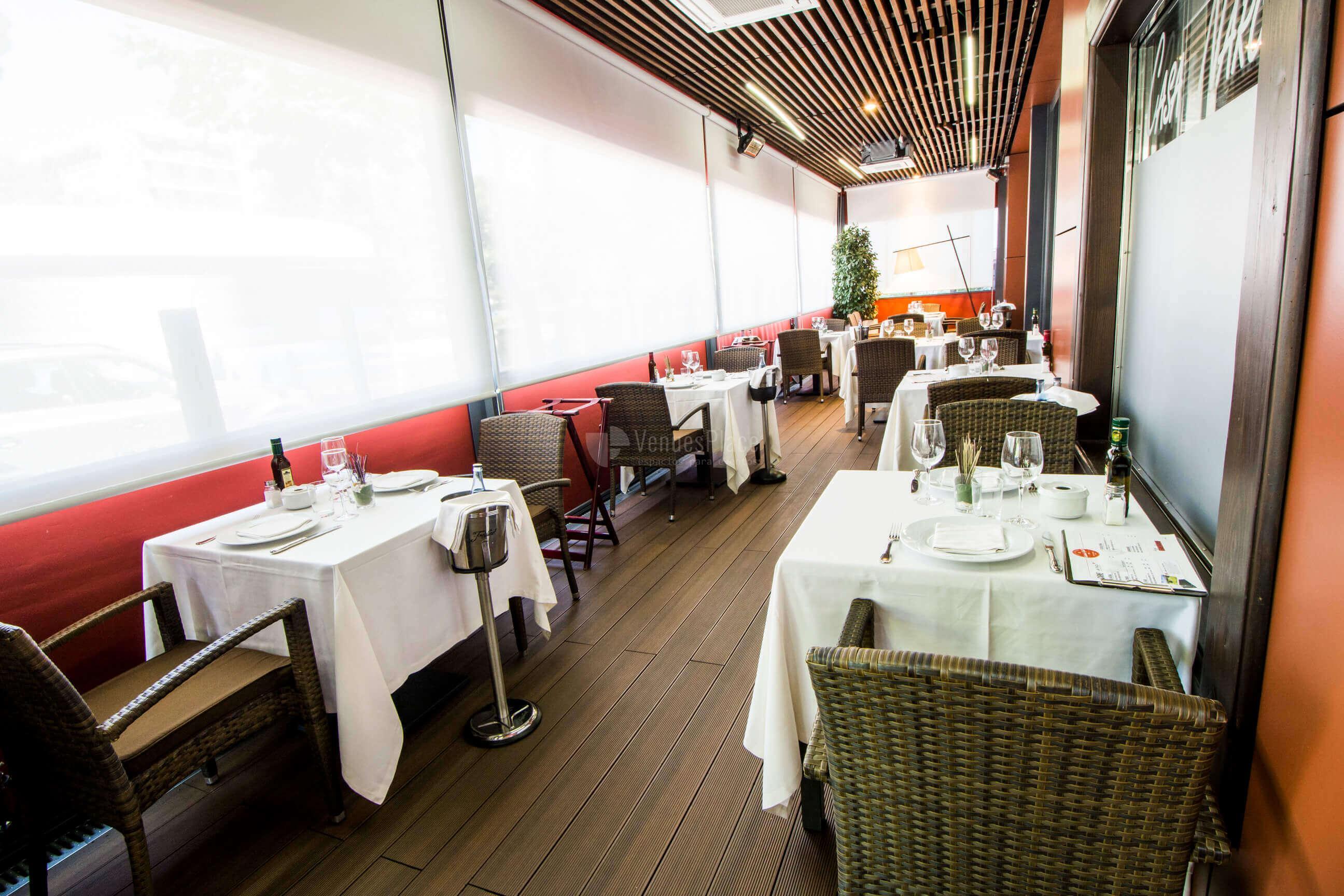 Eventos de empresa en Restaurante Casa Narcisa Business Area Madrid - Grupo La Máquina