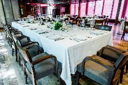 Montaje evento de empresa en Restaurante Casa Narcisa Business Area Madrid - Grupo La Máquina