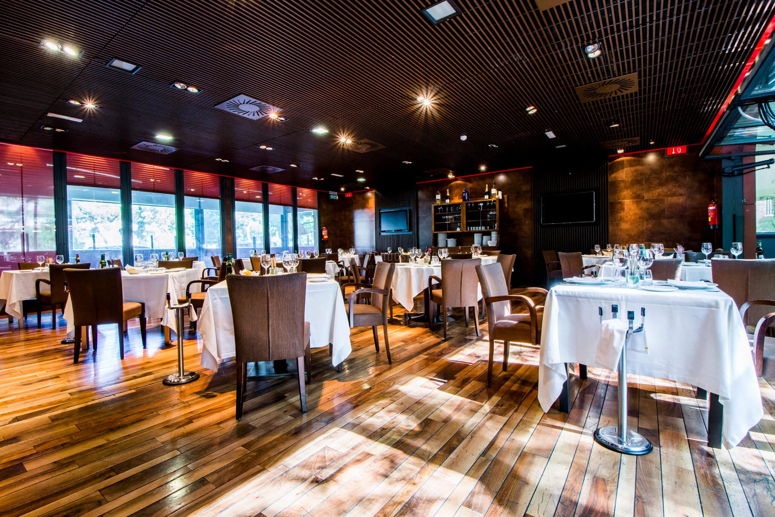 Espacios únicos para eventos sociales y de empresa en Restaurante Casa Narcisa Business Area Madrid - Grupo La Máquina