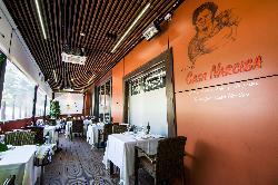 Terraza climatizada para eventos al aire libre en Restaurante Casa Narcisa Business Area Madrid - Grupo La Máquina