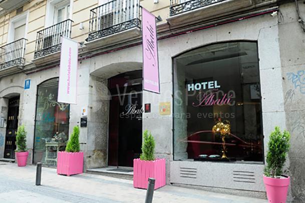 Exterior Hotel Abalú