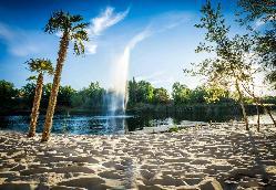 Laguna para eventos en Complejo La Cigüeña