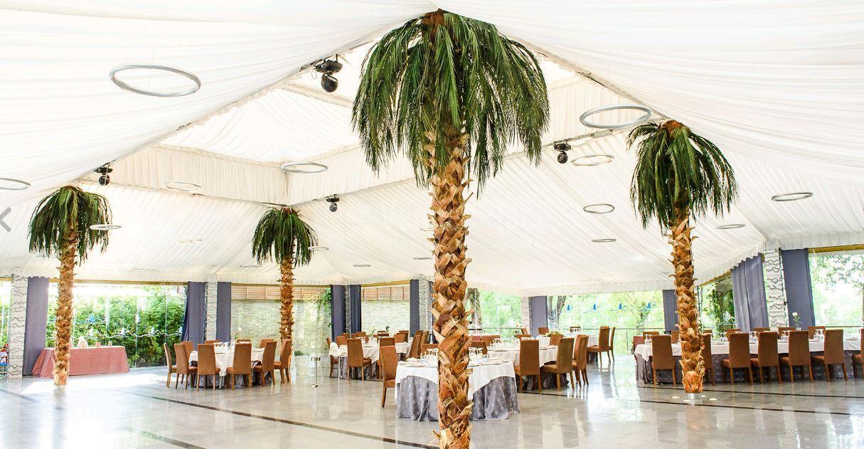 Interior para eventos en Complejo La Cigüeña