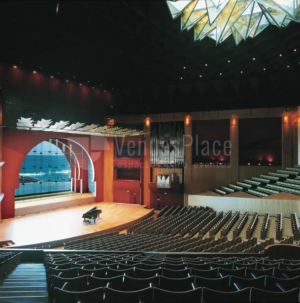 Auditorio alfredo kraus venuesplace - Auditorio alfredo craus ...