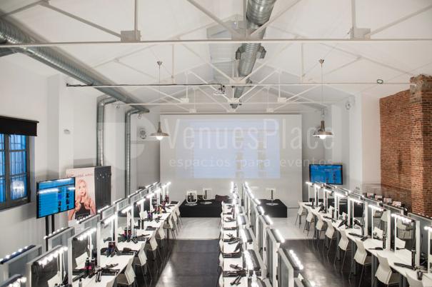 Eventos de empresa, culturales y singulares en un espacio industrial en el centro de Madrid en Espacio Harley