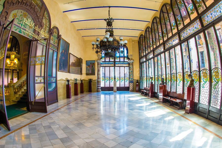 Salas para eventos en Palau de la Música