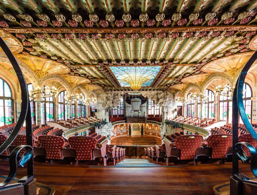 Espacios únicos en Palau de la Música