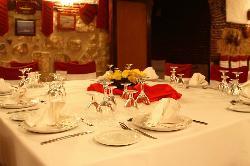 Interior Restaurante La Muralla
