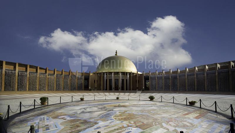 Exterior Palacio de Exposiciones y Congresos Sevilla
