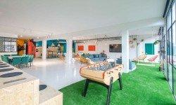 Zona de relax / descanso MeetBox