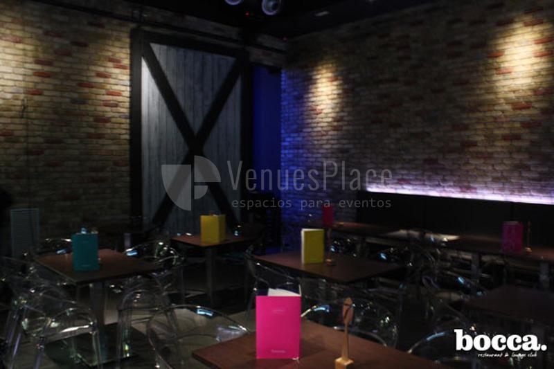 Restaurant & Lounge Club Espaciobocca