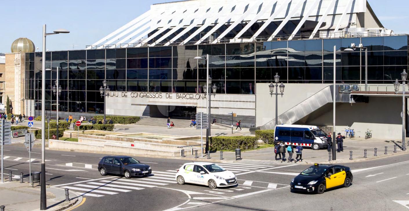 Exterior 1 en Palau de Congressos de Barcelona