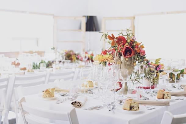 Montaje de espacios para bodas en Meeatings23
