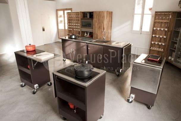 Cocinas a tu disposición en tus eventos y actividades team building en Meeatings23