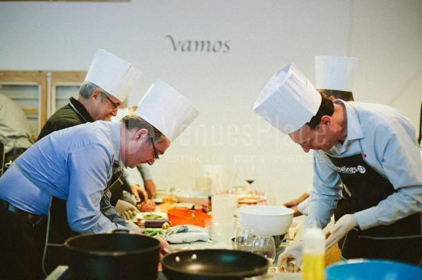 Actividades gastronómicas: Masterchef en Meeatings23