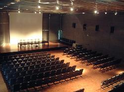 Espacio montado en teatro eventos de empesa en el  Museo del Traje