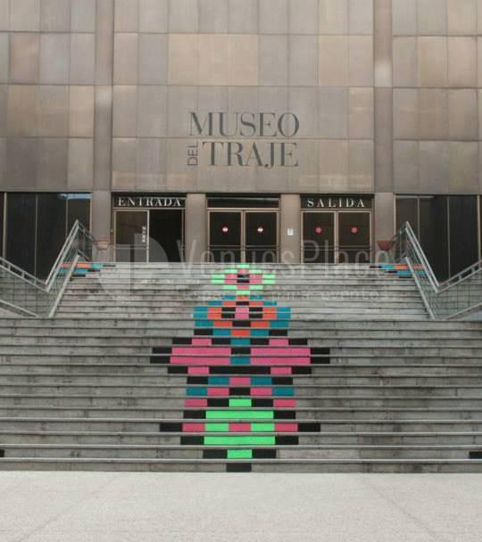 Fachada del Museo del traje eventos singulares para empresas