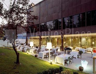 Exterior 3 terraza para eventos singulares de empresa en el Museo del Traje