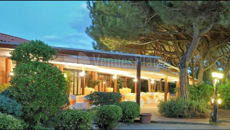 Terrazas con encanto en Restaurante Les Marines