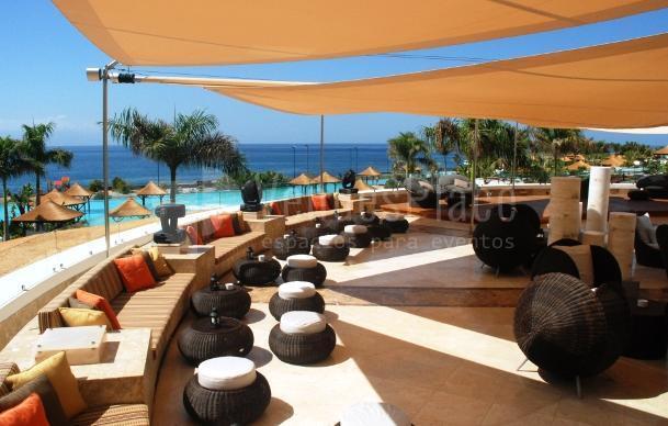 Terraza Club Ocean Hotel Gran Meliá Palacio de Isora
